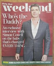 Simon Cowell - Daily Mail Weekend magazine – 7 December 2013