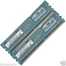 Memoria Ram Hynix 8gb (2x4gb) Ddr2-667 Pc2-5300f Ecc Totalmente Bufferizzata Cl5