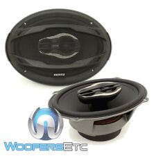 "HERTZ MPX690.3 MILLE PRO 6""X9"" AUDIO 130W RMS 3WAY TWEETERS COAXIAL SPEAKERS NEW"