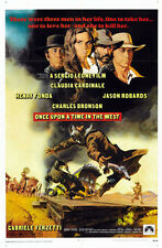 Once upon a time in the west #05 movie poster print