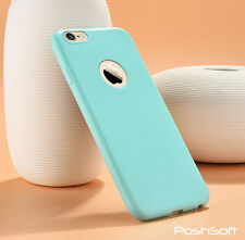 iPhones 7 6S 6 Soft Slim Cover Case TPU Silicone Skin ~Candy Colors, Vibrant~New