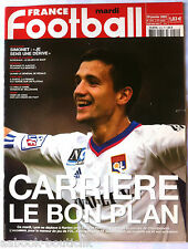 FRANCE FOOTBALL 29/01/2002; Carriere/ Simonet/ Bordeaux/ Juventus Turin/ CAN 200