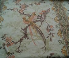 BARGAIN* BIRD & FLORAL Curtain Fabric * 100% Cotton * Curtains Soft Furnishings