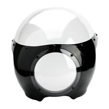 """Cafe Racer Drag Racing Viper Classic 5 3/4"""" Headlight Fairing Front Windshield"""