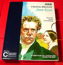 Charlotte Bronte Jane Eyre BBC 4-Tape Audio Book+Booklet Juliet Stevenson