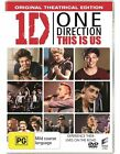 One Direction This Is Us DVD = REGION 4 AUSTRALIAN RELEASE = LIKE NEW