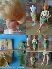 Vintage 1962 MARX Bonnie Doll Barbie LAL 2 British Crown Colony Hong Kong outfit