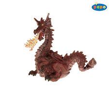 Feuerspeiender dragón rojo 12 cm decir cuentos de hadas Papo 39016
