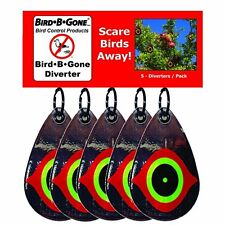 Bird B Gone Reflective Scare Bird Diverter (Set of 5) by Bird B Gone MMSED-5 New