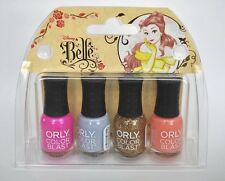 Orly Color Blast Disney Belle Mini Nail Polish Collection - Brand New