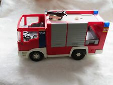 PLAYMOBIL Fire Truck 112 -- INCOMPLETE