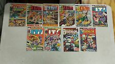 ASTONISING TALES 10 ISSUE COMIC RUN LOT 3-34 MARVEL KA-ZAR