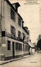 CPA   Dennemont (S.-et-O.) - La Maison André - Hotel Restaurant - Péche (359427)