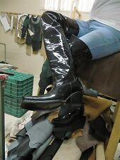 Thigh high cowboy boot PATEMT LEATHER, 32 INCH SHAFT
