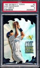1997 Skybox E-X2000 Alex Rodriguez Cut Above PSA 9 Mint Card #3