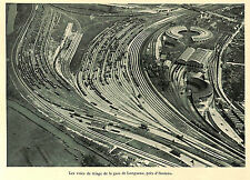 80 LONGUEAU VOIES DE TRIAGE PENNSYLVANIA RAILROAD NEW YORK ILLUSTRATIONS 1942