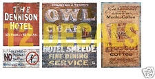 N Scale Ghost Sign Decals #2- Weather Your Buildings & Structures!
