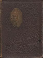 High Point College North Carolina 1928 Zenith Yearbook Annual College NC