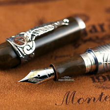 Montegrappa Limited Edition Sterling Silver Overlay Cigar Fountain Pen #102/200