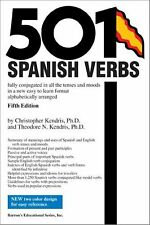 501 Spanish Verbs by Theodore Kendris and Christopher Kendris (2003, Paperback)