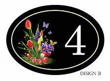 House,door,caravan name or number plaque/sign Various Designs YOUR NUMBER FREE