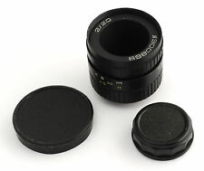 VEGA Soviet Russian C-mount cine movie lens 2/20mm Black Magic BMPCC