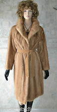 Vintage Genuine HONEY BLONDE MINK FUR COAT, EATON'S Fur Salon, size M