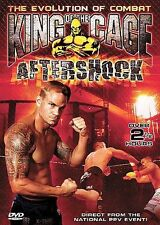 King of the Cage 33 - Aftershock (DVD, 2005) MMA KOTC UFC OOP (OUT OF PRINT)