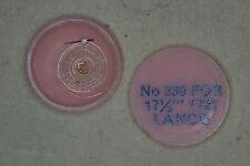 Hairspring balance LANCO 1721 Spirale bilanciere