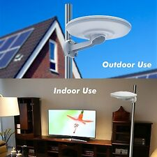 360° Waterproof Outdoor 1080P HDTV Amplified Antenna Digital 100 Mile UHF/VHF