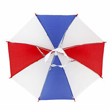 Hands Free Umbrella Foldable MultiColor Outdoor Sun Shade Hat USA Flag Style