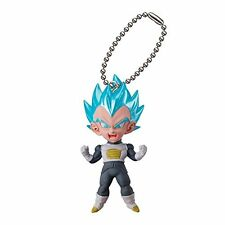 Dragon Ball Z DBZ Vegeta S5 Figure Keychain Ring UDM Burst 16 Gashapon Capsule