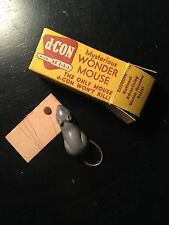 Vintage 1950s Mysterious Wonder Mouse In Original Box Advertising D-Con Poison
