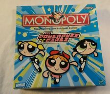 THE POWERPUFF GIRLS EDITION MONOPOLY Board Game Complete Cartoon Network