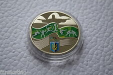 NEW! Ukraine Coin 2 UAH 2016: XXXI OLYMPIC GAMES 2016 in RIO Sport