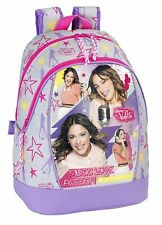 Disney Violetta Néon Sac À Dos À École À Pour Enfants Backpack
