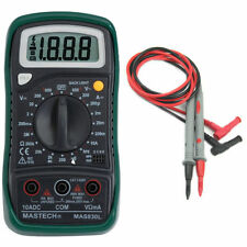 Original Mastech MAS830L Digital Multimeter DC/AC Voltage Resistance Test Lead