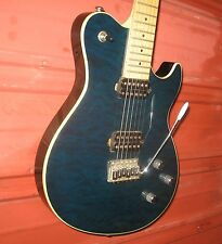 Samick Greg Bennett Fastback Electric Guitar. FB1. Transparent Blue.