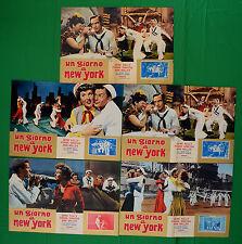 G73 LOTTO FOTOBUSTE  UN GIORNO A NEW YORK GENE KELLY FRANK SINATRA ANN MILLER