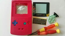 CARCASA COMPLETA COMPATIBLE GAME BOY COLOR POKEMON2 PINK+COLOR BUTTON NEW