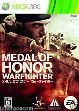 Used Xbox 360 Medal of Honor Warfighter MICROSOFT JAPAN JAPANESE JAPONAIS IMPORT