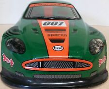 1/10 RC car 190mm on road drift Aston Martin Body Shell W/Spoilers Green