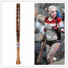 Batman Comics Harley Quinn Suicide Squad Wooden Baseball bat Halloween Cosplay