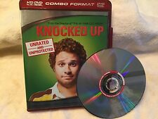 "HD DVD MOVIE-""Knocked Up""-Unrated!-Widescreen-Seth Rogen; Katherine Heigl-EX"