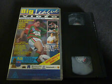 BIG LEAGUE VIDEO ISSUE 3 1994 RARE VHS VIDEO! RUGBY LEAGUE MANLY SOUTH SYDNEY