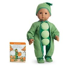 American Girl Bitty Baby Peapod Costume For Dolls--Fits Twin Too--Halloween-NIB