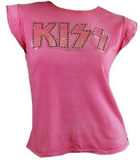 getragen AMPLIFIED Official KISS Strass Rock Star Vintage T-Shirt g.S 34/36