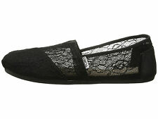 NEW Authentic TOMS Shoes, Black Lace Classics. Women Size 7