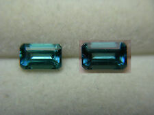 rare Neon Blue Tourmaline Teal Green Color Shift Gem Mozambique gemstone NATURAL