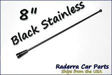 "8"" Black Stainless AM FM Antenna Mast FITS: 2006-2013 Cadillac Escalade EXT"